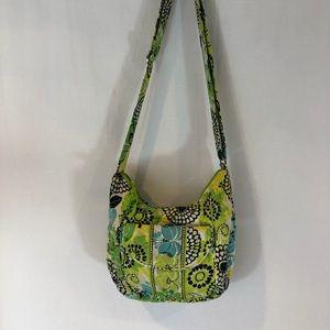 Vera Bradley medium sized Bag Lime Green Crossbody